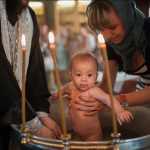 крещение ребенка фото