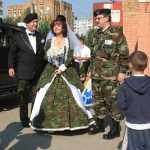 Сценарий выкупа невесты в военном стиле