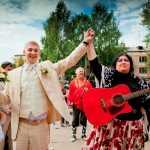 выкуп невесты в цыганском стиле