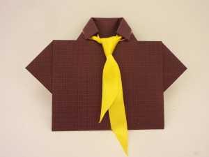 открытка галстук с днем рождения мужчине своими руками