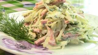 Простой салат «Закусочный»