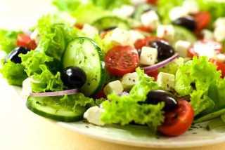 Летний салат «с грузинским акцентом»