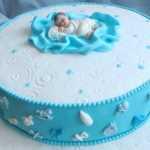 Торт для мальчика на крестины